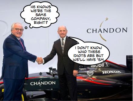 """New"" Mclaren sponsor delights bullish Dennis"