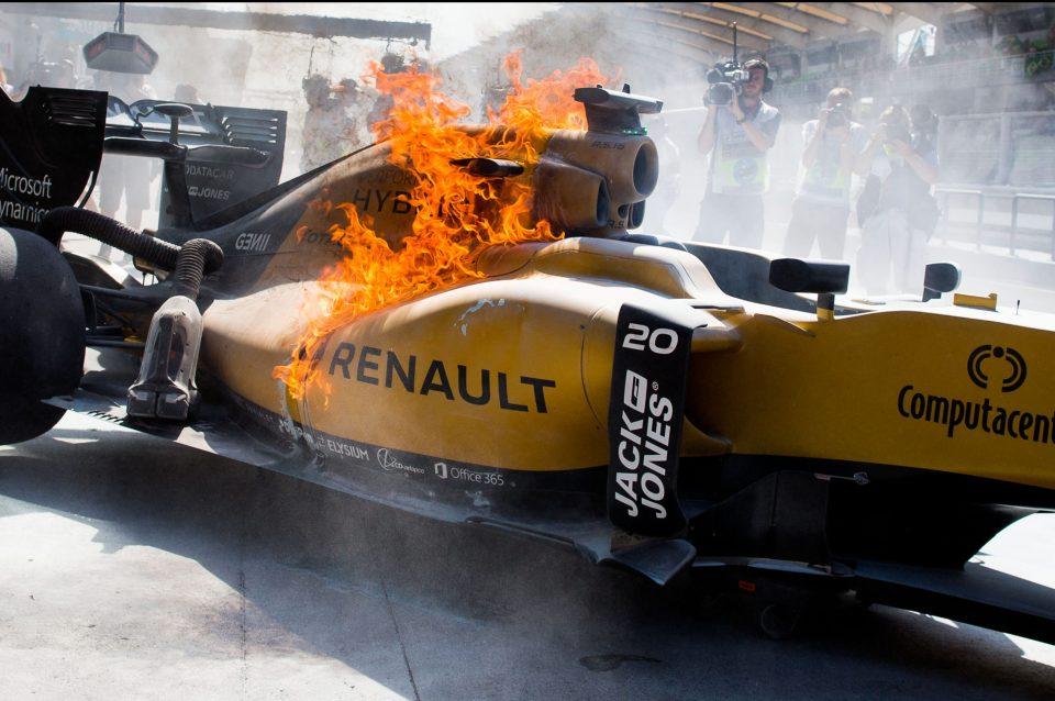 Magnussen executes Renault season metaphor