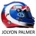 Jolyon Palmer Helmet 2017