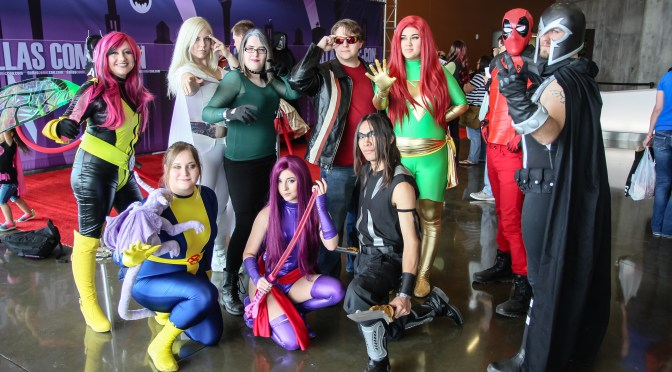 Dallas Comic Con Fan Days Oct 2015