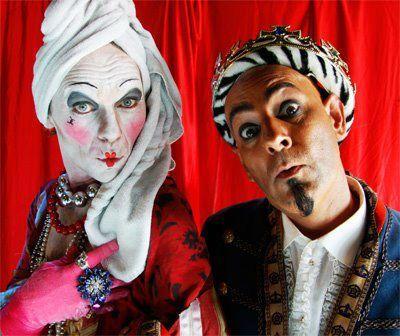 Vestuario circo - Invisible Circus