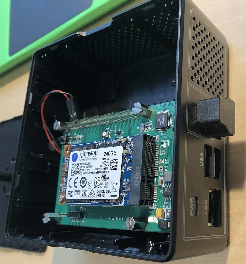 Installing SSD to the pi