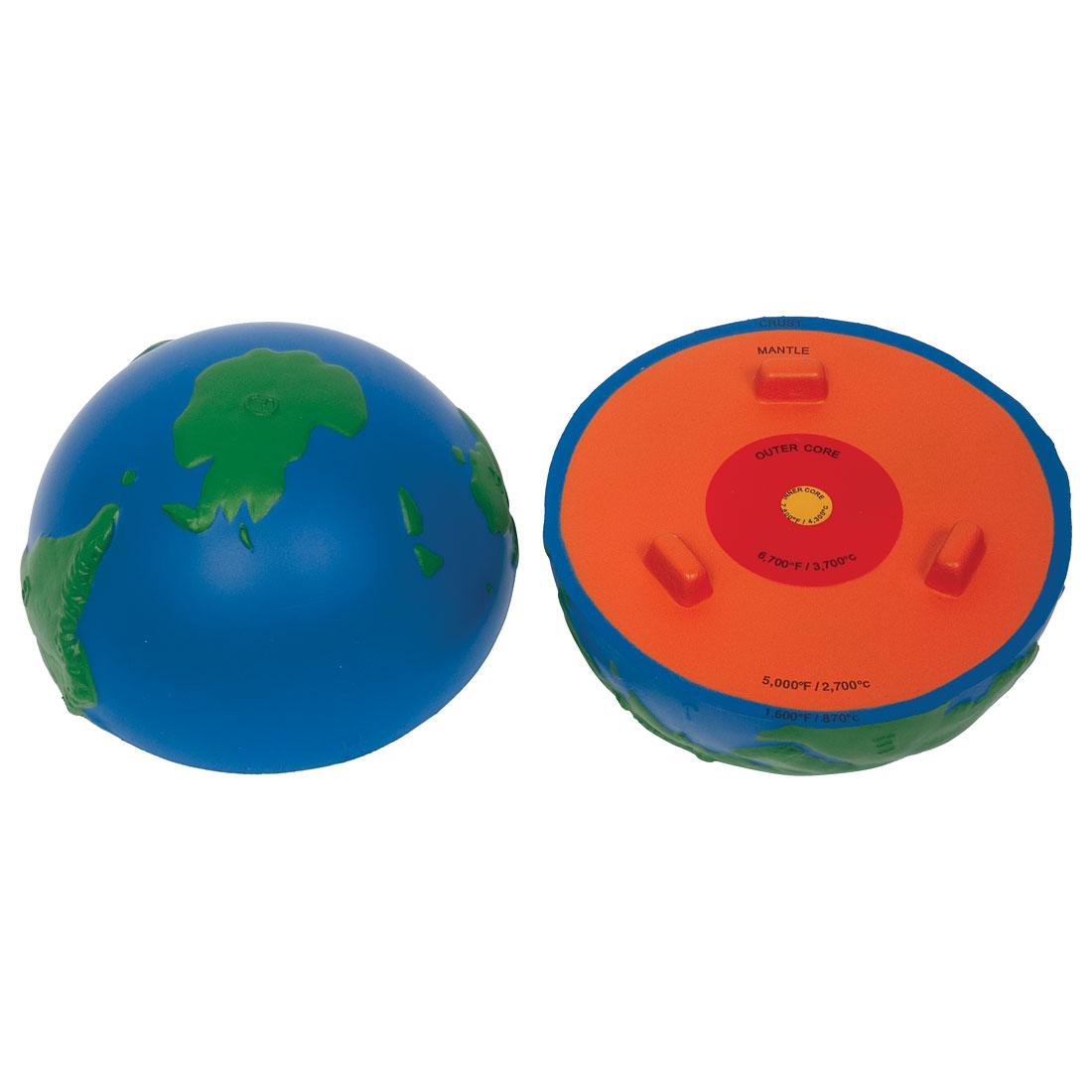 Cross Section Earth Model W