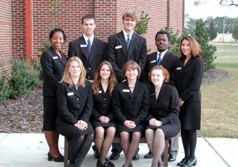2001 student ambassadors