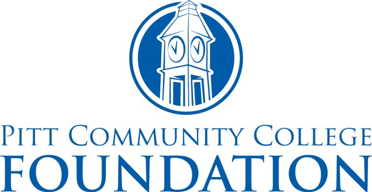 PCC Foundation logo featuring college's clock tower.
