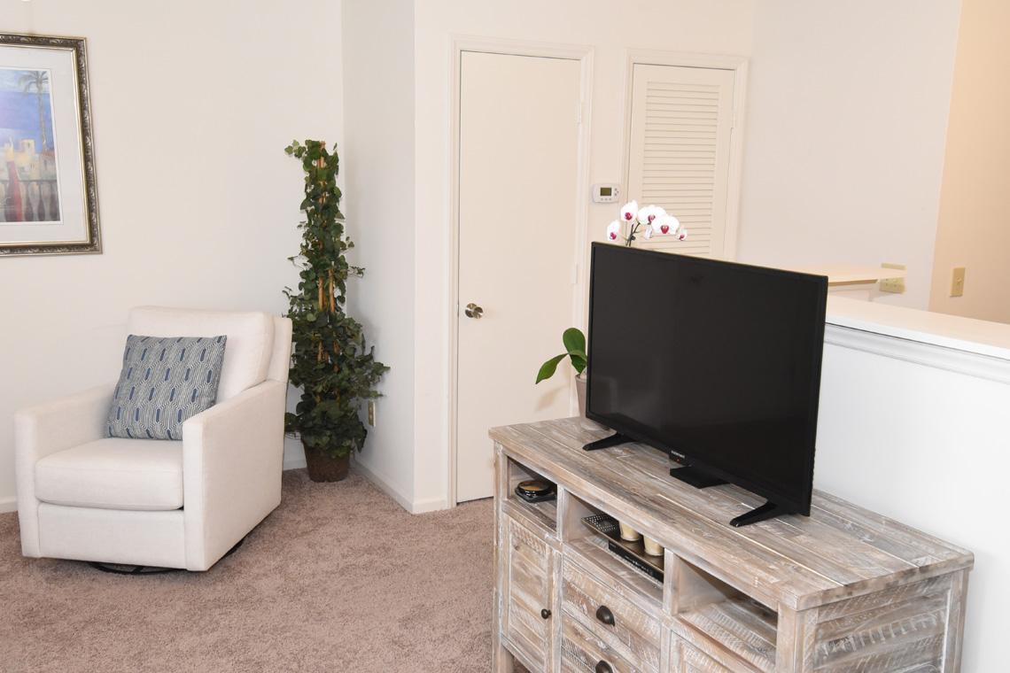 Wesley South at ECU - 2 Bedroom Living Area