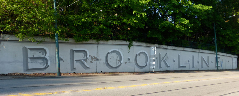 history of Brookline