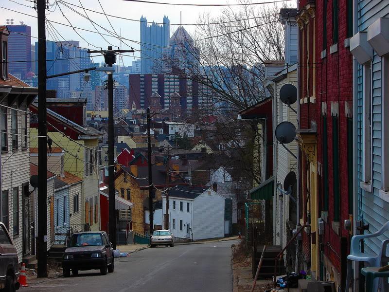 Spring Garden Avenue in Spring Hill entering into Spring Garden