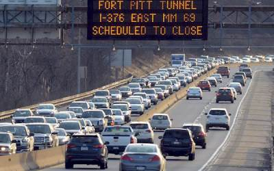 7 Thoughts You've Had Sitting in Pittsburgh Traffic