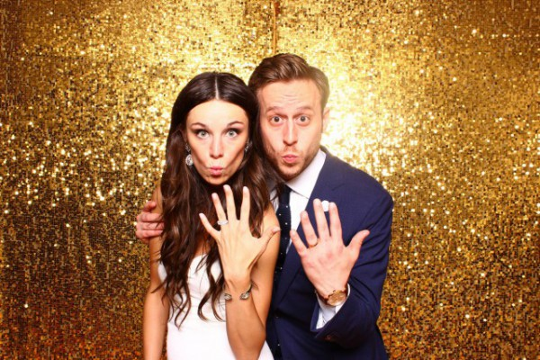 Pittsburgh Event Group Gold Photo booth rental