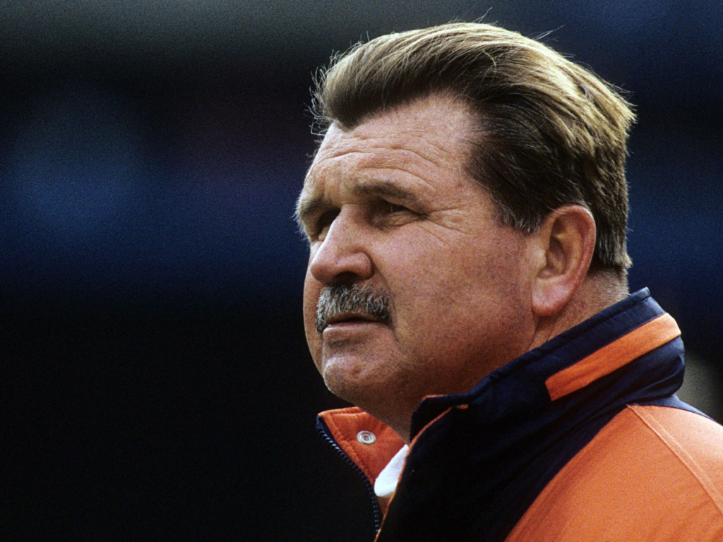 "Mike Ditka heads home in ESPN feature ""Back to School"""