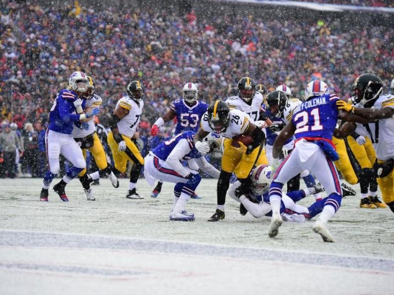 Three up, three down: Steelers vs. Bills