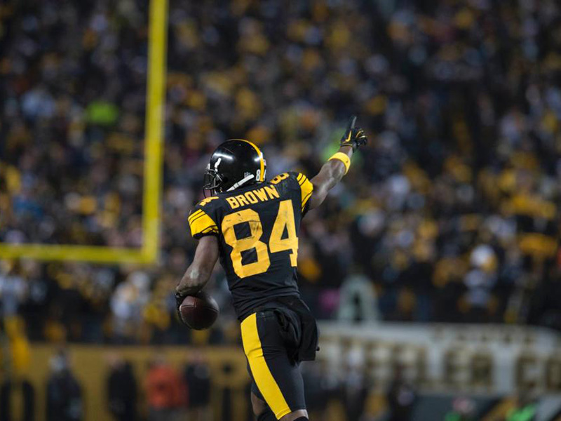 Steelers make Antonio Brown highest-paid WR in NFL