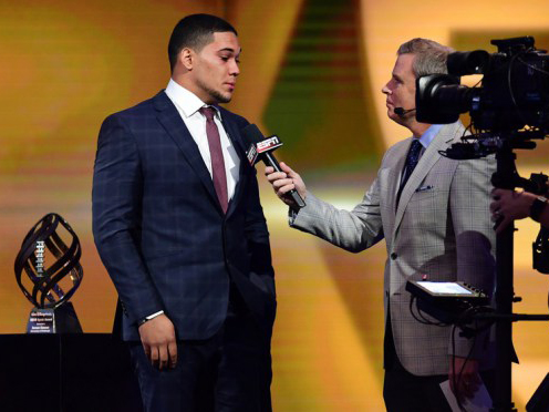 James Conner awarded Disney Spirit Award