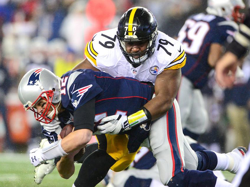 Three up, three down: Steelers vs. Patriots