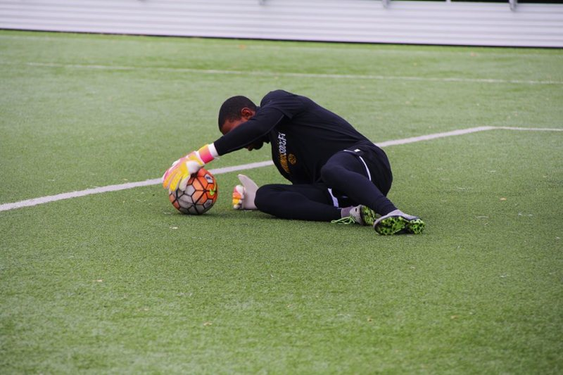 Riverhounds goalie Keasel Broome coming into his own