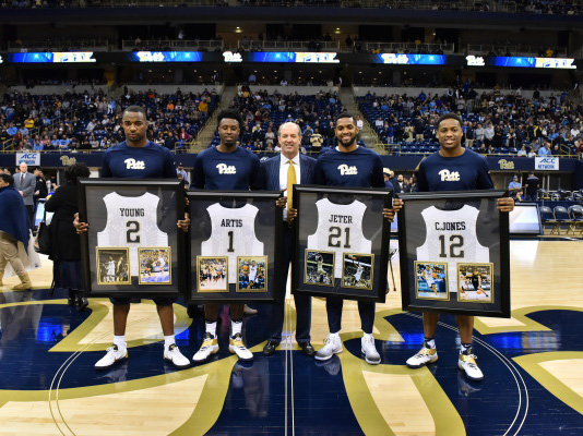 Panthers fall to No. 8 Tar Heels 85-67 on Senior Night