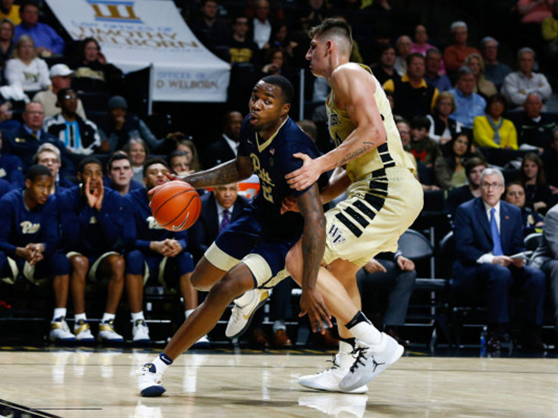 Pitt men's basketball team falls to Wake Forest, 63-59