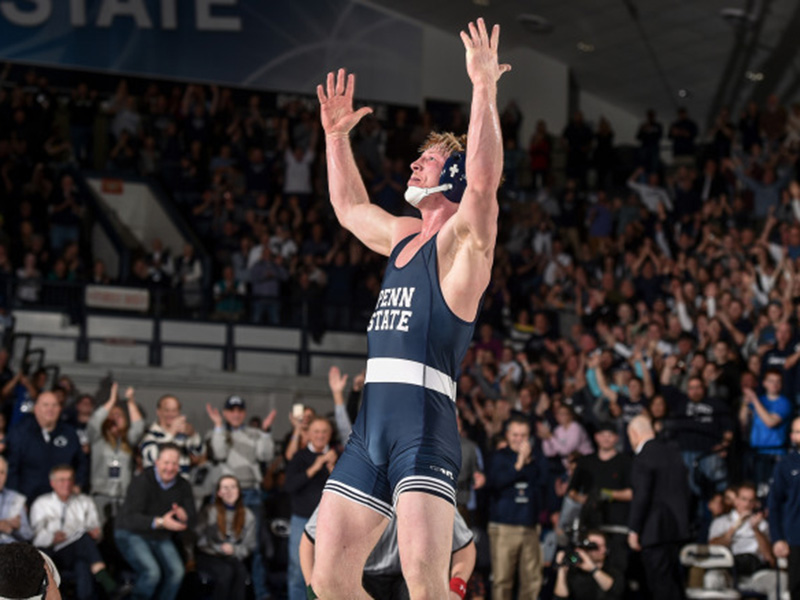 Nittany Lions have banner weekend on both mat and ice