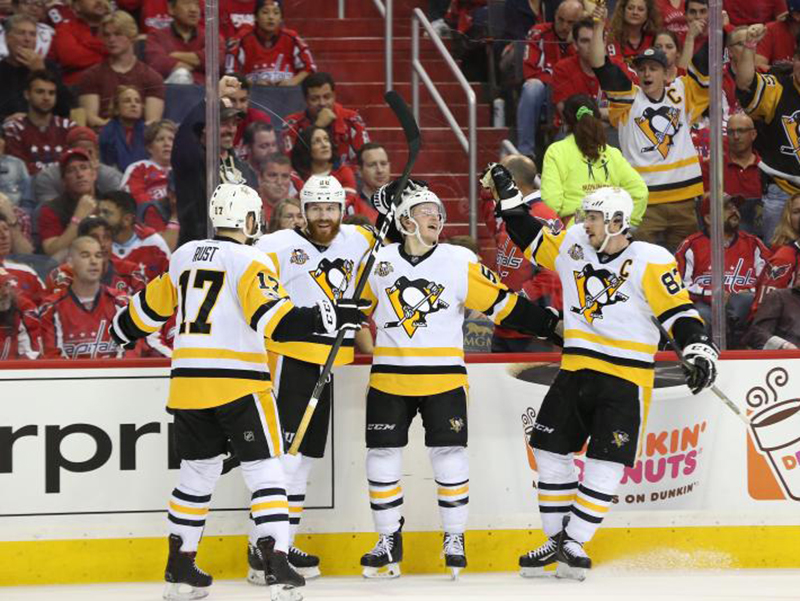 Penguins bypass slow start to demolish Capitals, take commanding series lead