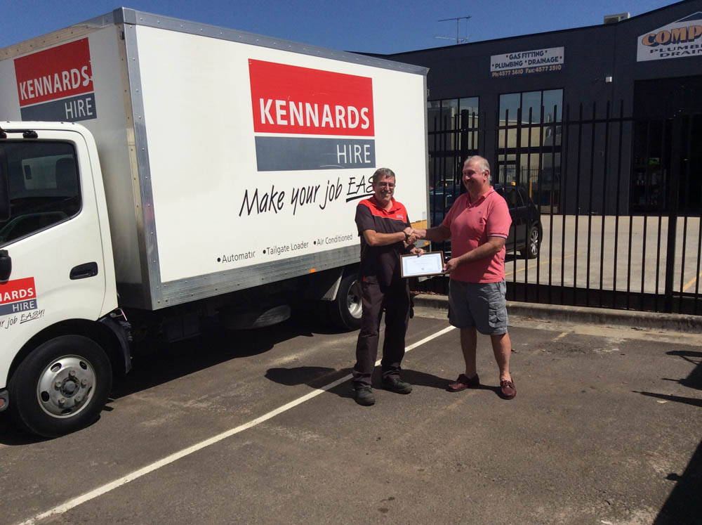 Kennards McGrath hill for supplying the portable toilet