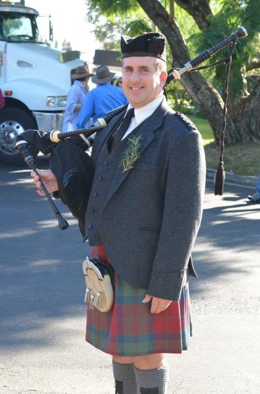 Piper from Governor Macquarie Pipe Band