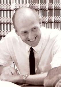 Emeritus Professor of Anthropology Lee Munroe in 1965.