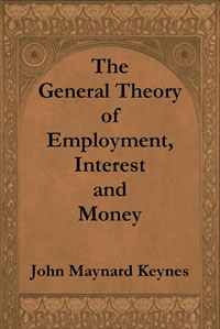 Book cover - The General Theory of Employment, Interest and Money