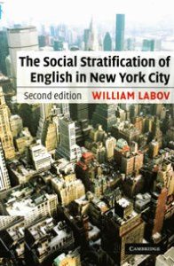 Book cover - The Social Stratification of English in New York City