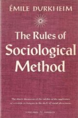 Book Cover - The Sociological Method