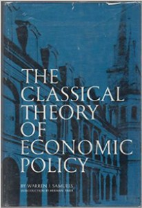 Book cover - The Classical Theory of Economic Policy