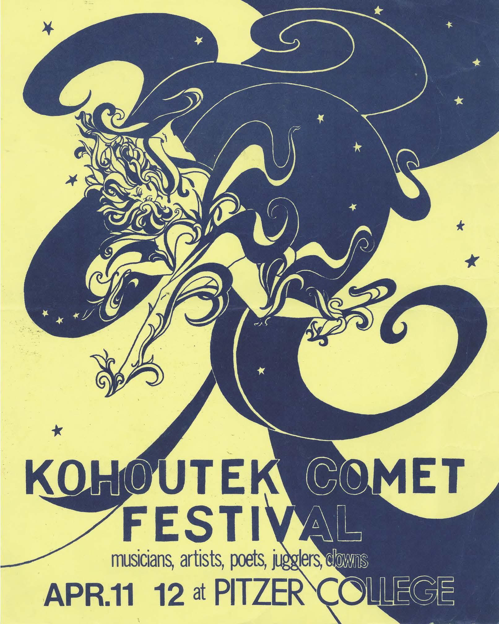 1975 - Poster for Kohoutek II