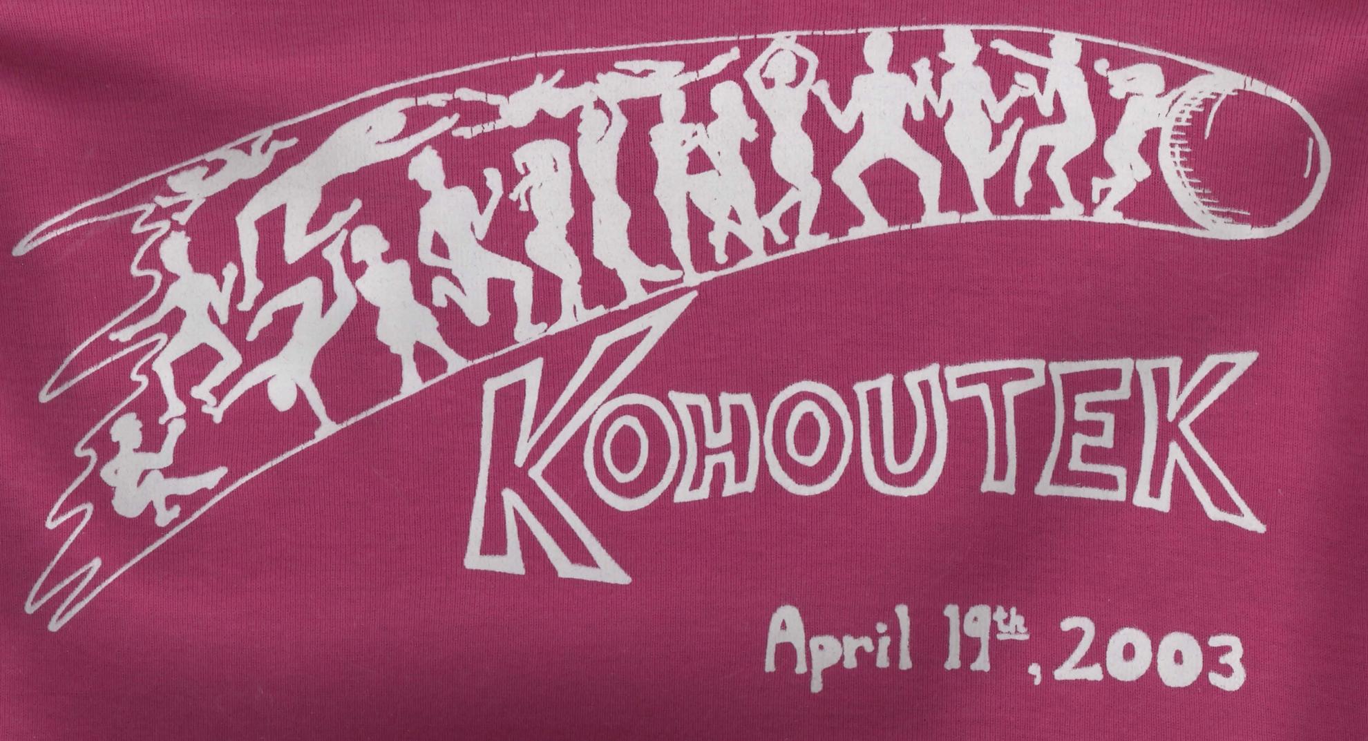 kohoutek 2003 tshirt-pink