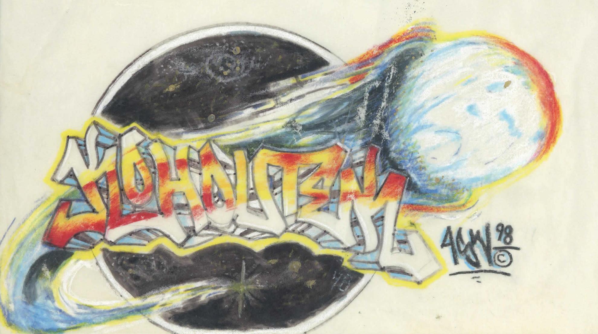 1998 Kohoutek drawing