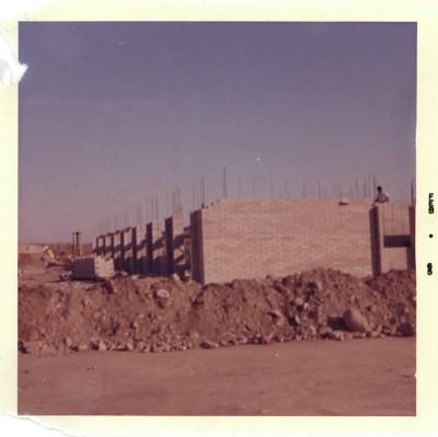 Holden Hall Construction, 1965