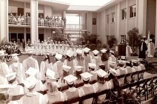 Dean of Faculty, Arthur Feraru, Addressing Graduates, 1968