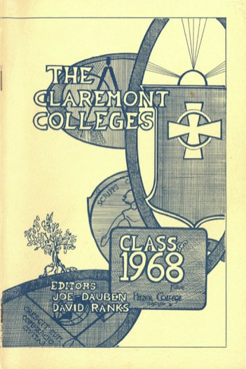 Cover of The Claremont Colleges, Class of 1968
