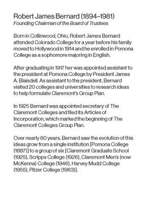 Robert J. Bernard Biography