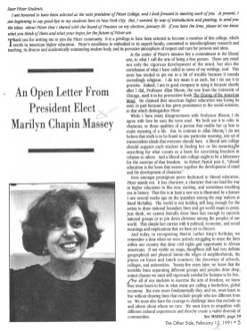 The Other Side: February 11, 1992, Vol. 14, Issue 1, page 5