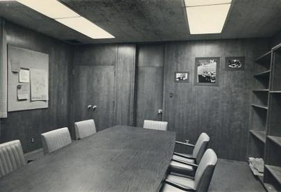 Scott Hall Conference Room, undated