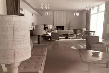 Sanborn Hall Living Room, September 21, 1965