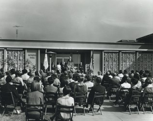 Dedication of Holden Hall, 1965