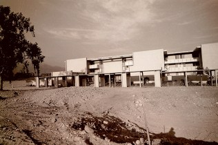 Front Entrance of Mead Hall, August 28, 1968