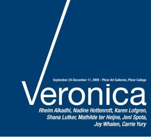Catalogue cover - Veronica