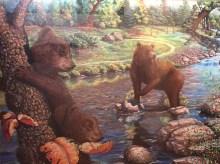 Stan Hunter, teddy bears!, 1998, pastel on paper