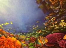 Stan Hunter, Unseen Beauty, 1999, acrylic on canvas