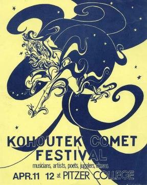 Kohoutek Comet Festival Poster 1975