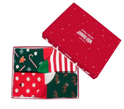 Calze Jimmy Lion Christmas Pack