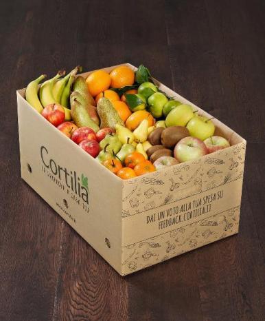 cassetta Cortilia solo frutta