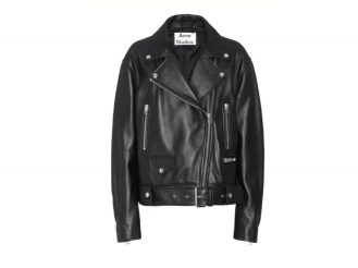 Acne giacca pelle
